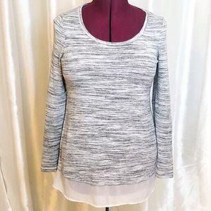 Motherhood Maternity Long Sleeve Shirt (size S)
